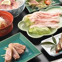 佐賀牛+豚しゃぶ