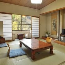 嘉瀬川沿いの10畳和室畳