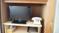客室(和室)テレビ完備