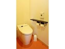 新客室トイレ