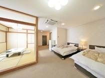 【潮騒館】和洋室(2ベッド+6畳間)