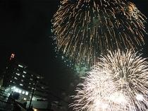 【ガマダス花火大会】花火見物の特等席!