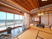 【本館】最上階オーシャンビュー和室(角部屋)