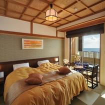 ツインルーム露天付客室の一例