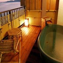 アジアン風露天風呂付客室