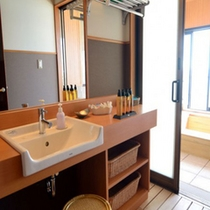 特別室802号室・洗面台