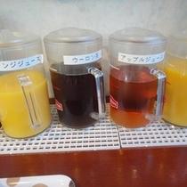 ご朝食時に各種ドリンクをご用意しております!