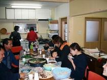 ダイニングキッチン(無料開放)