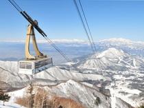 竜王スキーパークゴンドラ
