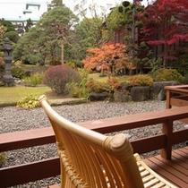 【メゾネット】客室より秋の眺め