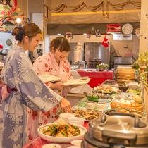 【夕食バイキング】一品料理コーナー