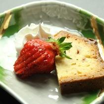 和食&イタリアンの創作ディナーデザート(一例)