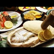 お祝いや記念の旅行に鯛の塩釜焼きはいかがでしょうか?
