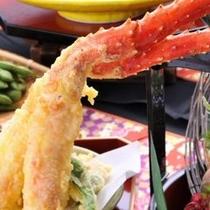 たらば蟹の天ぷら