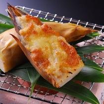 【夕食】筍グラタン