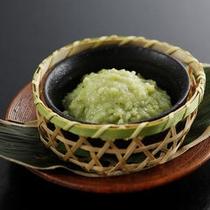 【夕食】塩麹わさび