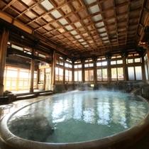 日本の浴場10選にも選出される 有形文化財の【桃山風呂】