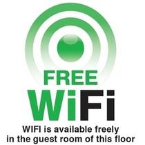 全室WI-FI無料で利用できます