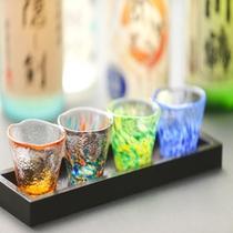 四国4県地酒の飲み比べ