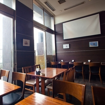 cafe grainfield店内