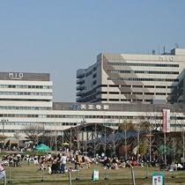 天王寺公園・JR天王寺駅