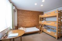 【禁煙ファミリールーム】キッチン付、4人部屋