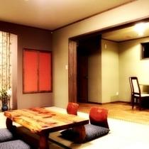 別棟 和モダン「こぶし」 12畳+8畳ベットルーム+カウンター
