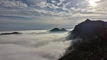 秋の雲海 谷川岳山小屋付近より