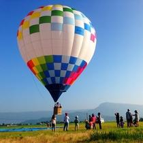ネイチャーランド 熱気球