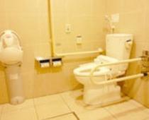 【車イス用トイレ】1Fにございます