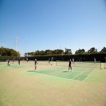 神栖市海浜運動場テニスコート
