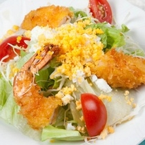 (夕食)ミモザサラダ