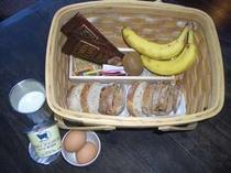 朝食はお好きな時間にお好きな場所で