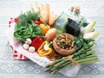 食材には旬の野菜を