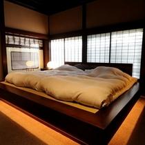 聚楽第寝室