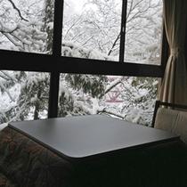 鳥の棟客室(冬)