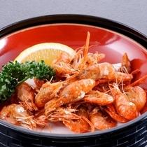別注料理:川海老のから揚げ