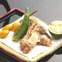 【秋の味覚】≪秋の別注料理≫松茸の天ぷら