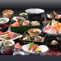 【朱白(すはく)膳】 信州食材やこだわり食材満載のオリジナル会席膳