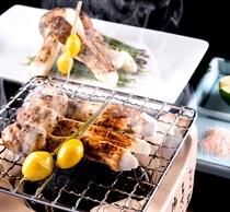 【秋の味覚】秋の別注料理:焼き松茸