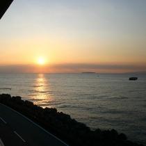 お部屋からの景色(朝)