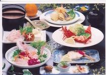 地魚,天然本クエ小鍋,塩焼付