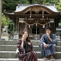 神社カップル(プラン用)