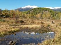 秋の一の瀬園地まいめ池