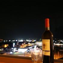 プレミアムルームツインからの眺め