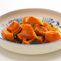 味の染みたかぼちゃ煮