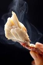 蟹の足の身