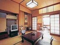 一室2名様ご利用の場合の客室例