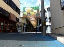 ユウグレナモール商店街