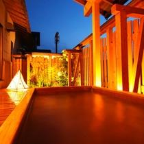 露天風呂の一例
